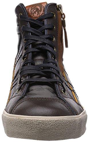 Diesel D-String Plus Hombres Moda Zapatos Black