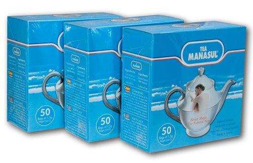 Manasul Tea 50S 3 Pack  Te Manasul  150 Total Tea Bags