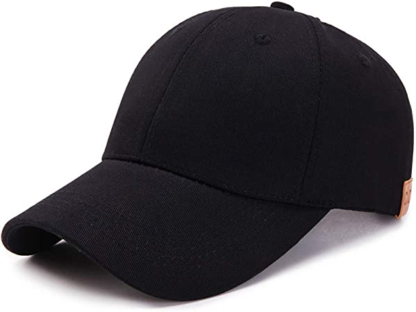 Nueva Gorra de béisbol de Cola de Caballo para Mujer, Color sólido ...