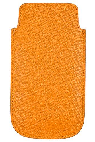 Prada cover case custodia iphone 5 5s arancione