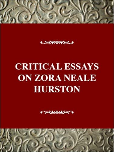 amazoncom critical essays on zora neale hurston critical essays  critical essays on zora neale hurston critical essays on american  literature series st edition