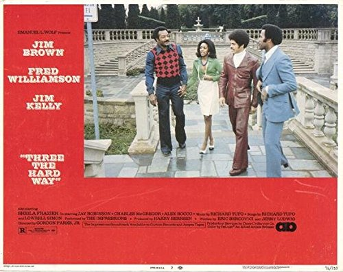 Three the Hard Way POSTER Movie (1974) Style D 11 x 14 In...