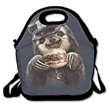 Funny Monkey Sunglasses Astronaut In Space Lunch Bag For Men Women Kids Cool Bag For Office School