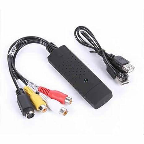 Xining USB 2.0 Adaptador de tarjeta de captura de vídeo VCR ...