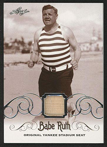 Babe Ruth 2016 Leaf #ys-55 Original Yankee Stadium Game Used Seat Trading Card - Baseball Game Used Cards ()