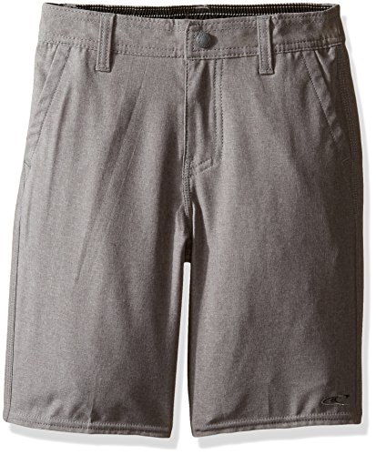 Oneill Kids Boys Shorts - O'Neill Big Boys Loaded Quick Dry Stretch Hybrid Boardshort, Heather Grey, 25
