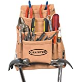 Graintex PL44S 10-Pocket Nail and Tool Pouch