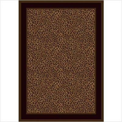 Innovation Zimbala Leopard Print Rug Size: 5'4