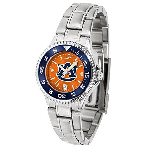 (Auburn Tigers Women's Stainless Steel Dress Watch )