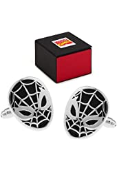 MARVEL SpiderMan 3 Black and Silver Tone Cufflinks FREE Marvel Gift Box Spider Man Cuff Links