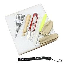 HeroNeo® Needle Felting Starter Kit Wool Felt Tools Mat + Scissors + Needle Craft Kit