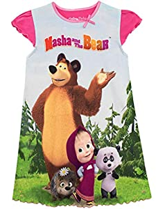 Masha and the Bear Girls' Nightdress