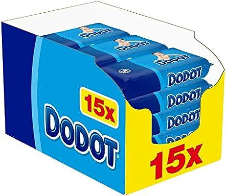 15 paquetes de toallitas Dodot