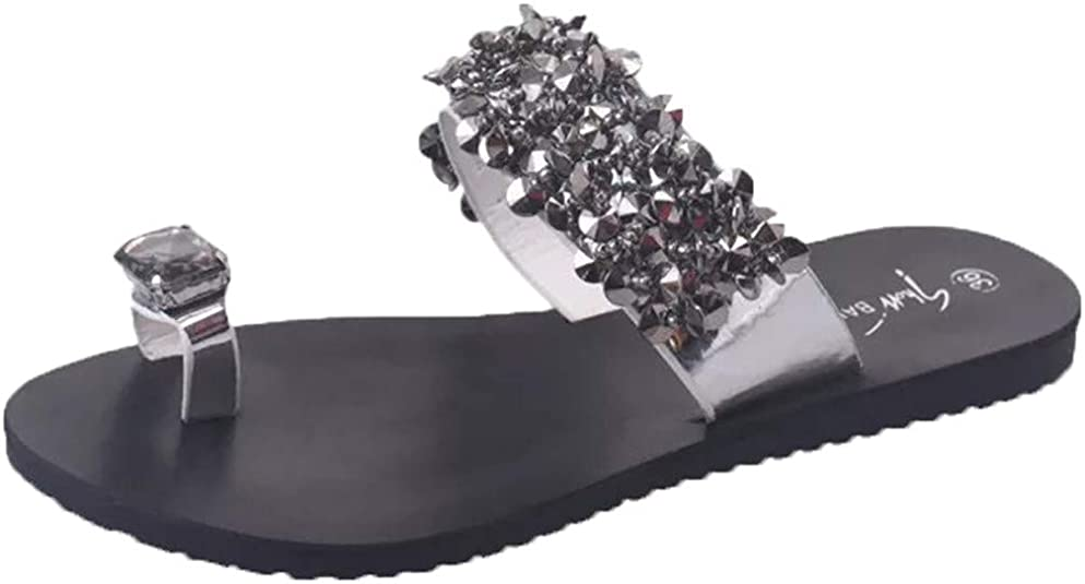 Amazon.com: AOJIAN Shoes Womens Sandals Summer Rhinestone ...