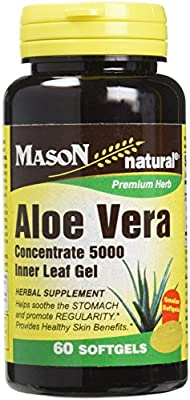 Mason Vitamins Aloe Vera Softgels, 60 Count