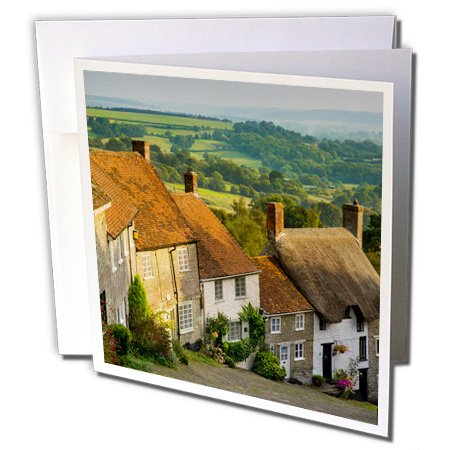 danita-delimont-houses-evening-at-gold-hill-in-shaftesbury-dorset-england-greeting-cards-6-greeting-