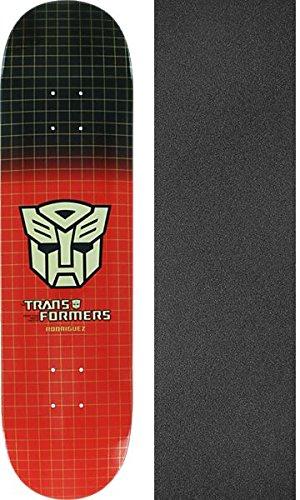 """プリミティブスケートボードPaul Rodriguez Autobotsグリッドスケートボードデッキ – 7.87 """" X 31.125インチwithブラックマジックグリップテープ – 2アイテムのバンドル   B06VVXDB63"""