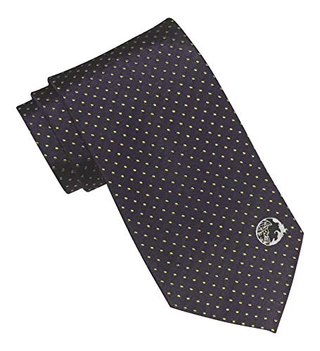 (Versace Collection Purple Polka Dots)