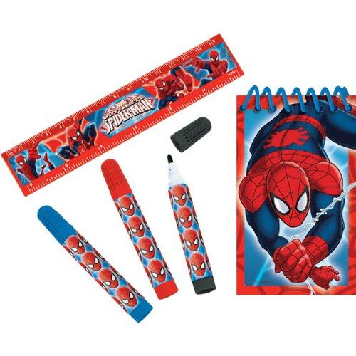 Spider-Man Stationery Set (Halloween Shooter Drinks)