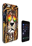 716 - Rasta Lion Weed Cannibas Hair Jamaican Design iphone 5 5S Fashion Trend CASE Gel Rubber Silicone All Edges Protection Case Cover