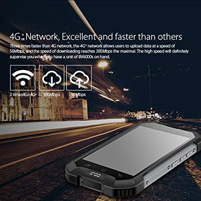 Blackview Rugged Cell Phone, BV6000S Rugged Smartphone - 4G Android