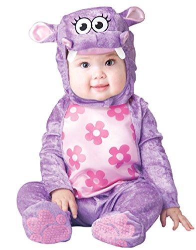 Hippo Baby Costume (InCharacter Baby Girl's Huggable Hippo Costume, Purple, Small)
