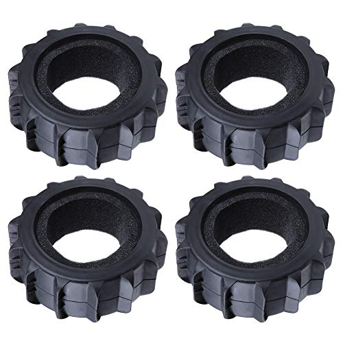 Hobbypark 1/8 Buggy Paddle Tires Snow Sand Tyres with Foam Inserts Off Road Scale Baja Replacement (4-Pack)