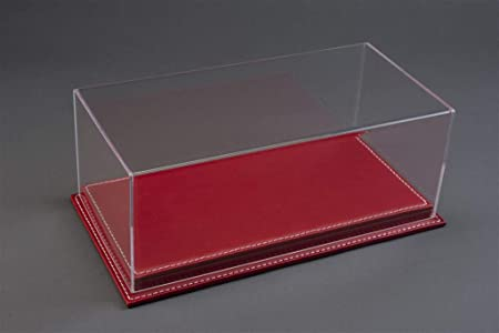 10091 MULHOUSE RED LEATHER ATLANTIC CASE 1//12 DISPLAY CASE SHOW-CASE 1//12