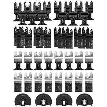 Amazon.com: Cuchillas de sierra oscilantes multiherramienta ...