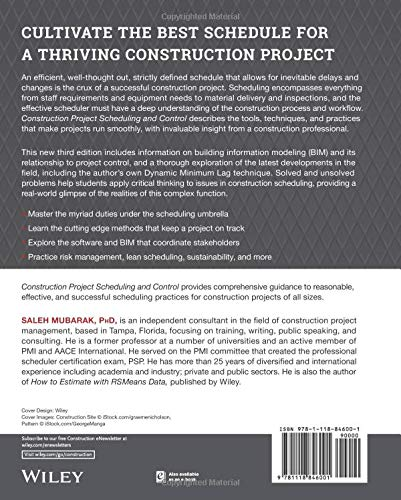 Construction Project Scheduling and Control: Amazon co uk