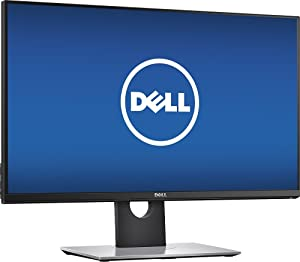 "Dell 27"" LED QHD GSync widescreen flat-panel Monitor (2018 Newest), 2560x1440 resolution, 1ms response time, 144Hz refresh rate, HDMI, DisplayPort"