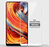 JUMP START 5D Full Coverage Tempered Glass Screen Protector For Xiaomi Mi Mix 2 (White)