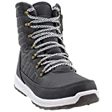 Khombu Womens Alta Sport Casual Boots, Grey, 10