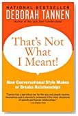 That's Not What I Meant!: How Conversational Style Makes or Breaks Relationships