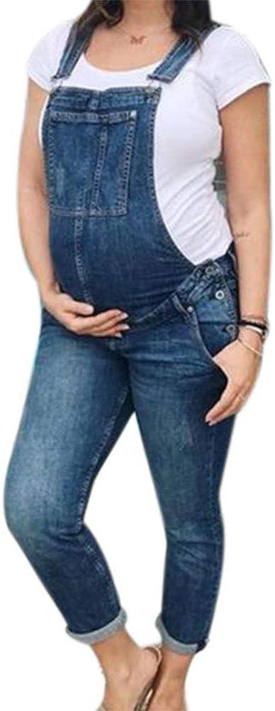 Each Women Salopette Premaman Tute Donna Incinta Denim Salopette Jeans Tute
