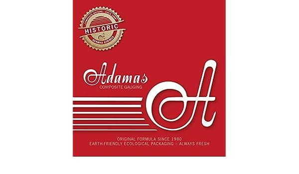 Adamas Cuerdas para Guitarra Ac/ústica Cuerdas Sueltas Lisas Acero .012//0,31mm