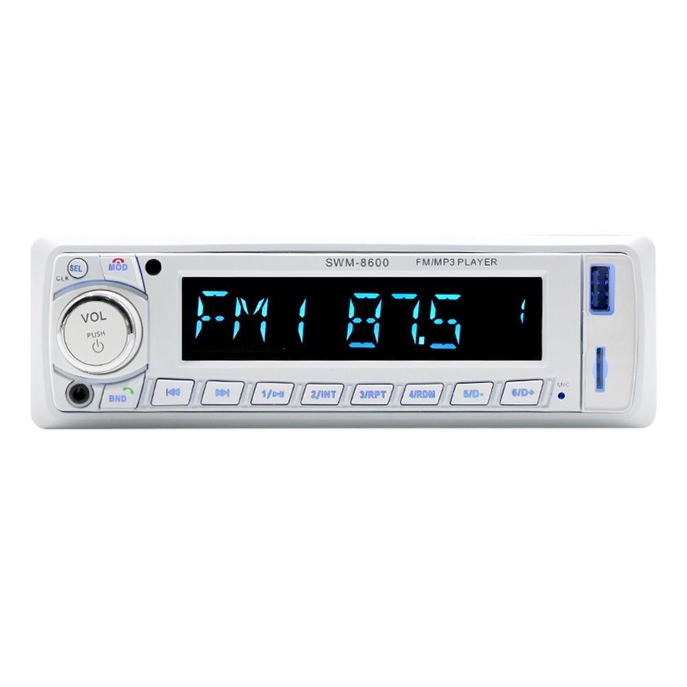 LCDカーステレオラジオmp3 Player with Bluetooth UディスクダッシュFM受信機 B078YVYH6T