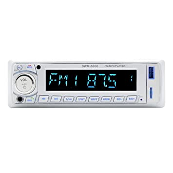 prettygood7 - Reproductor MP3 para Coche, Unidad de Cabezal estéreo, Unidad de Disco U, Reproductor de DVD para Coche con Pantalla táctil LCD SWM-8600 LCD ...