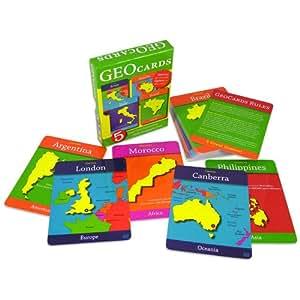 Geotoys - Juguete educativo de geografía (GEO-116) (versión en inglés)