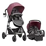Evenflo Pivot Modular Travel System, Duty Rose