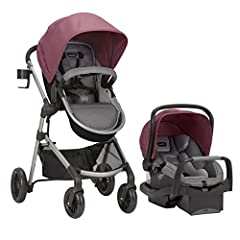 The Evenflo Pivot Modular Travel System is an exceptional multipurpose car seat and carriage combo system. It was developed to exceed safety standards with the valuable input of parents for everyday use, is made from high-quality materials, a...