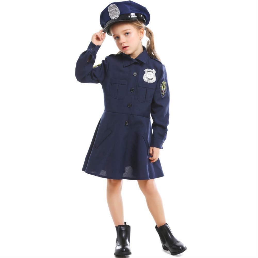 Disfraz de Halloween para niños Disfraz Cosplay Linda policía ...