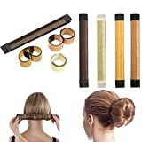 Hair Styling Set, Vibury 11 Pack Hair Bun Maker