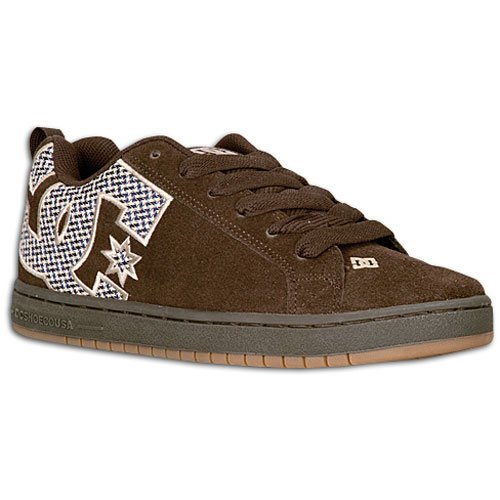 Court Chocolate Men's Dark SE Skateboarding Graffik Brown DC Shoe zx5q0gAdAn