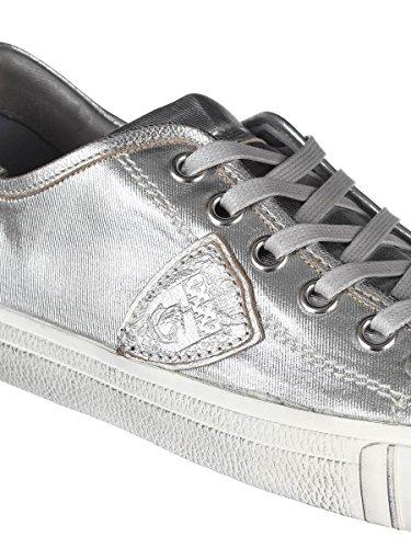 Philippe Model Zapatillas Para Hombre Plateado Plata It - Marke Größe