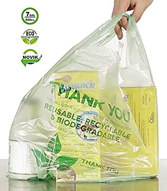 Amazon.com: NOVIK biodegradable compostable ecológico ...