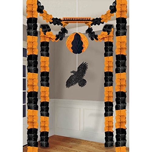 Amscan Raven All-In-One Tissue Paper | Halloween Decorating -