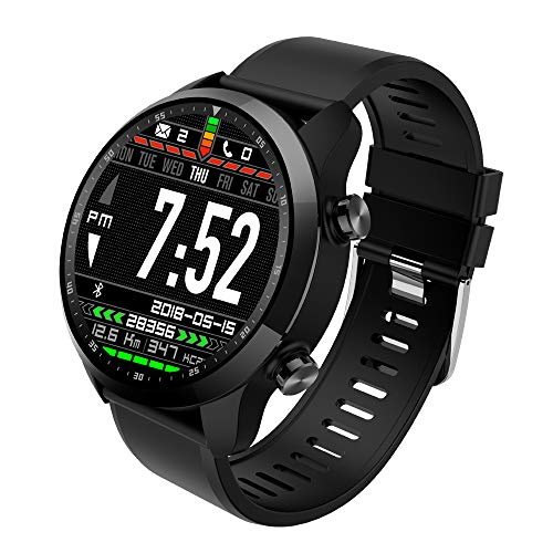 Zwbfu KingWear KC06 Smart Watch Sport Band Fitness Tracker Heart Rate Sensor BT 4.0 RAM 1GB ROM 16GB Android 6.0 1.3 inch 360360 IPS LCD Sport Support GPS Waterproof Smartband (Samsung Cf390 Series Curved 21-5 Inch Fhd Monitor)