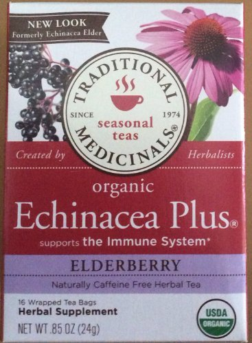 (Traditional Medicinals Echinacea Plus Elderberry Tea)