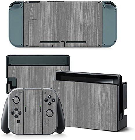 Nintendo Switch Skin Design Foils Faceplate Set - Grey Wood Motivo: Amazon.es: Videojuegos